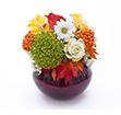 Пример работы цветы из полимерной глины